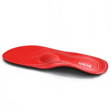Cork EVA orthotic insoles shoe pad insert