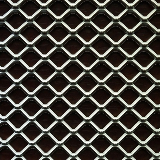 Diamond Shape Expanded Mesh Stainless Steel