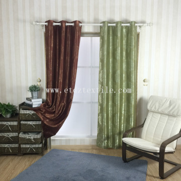 POLYESTER CHEAP PIRCE BLACKOUT CURTAIN