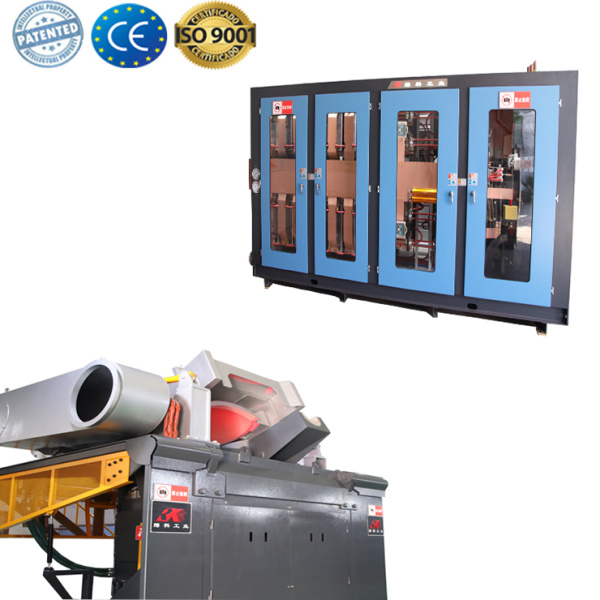 Induction smelting furnace equipment for cast iron