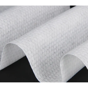 100% Cotton Mesh Towel Fabric Spunlace Nonwoven Fabric