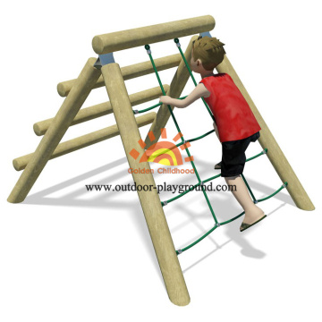 Scramble Climber Equipment Playground On Park For Kids
