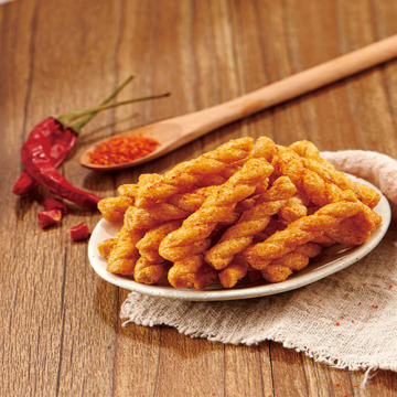 Spicy glutinous rice twist