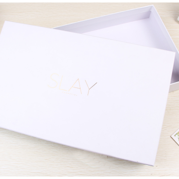 Custom scarf packaging box luxury