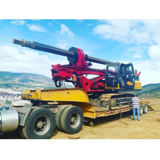 high quality 50-70 meters deep rotarydrilling rig