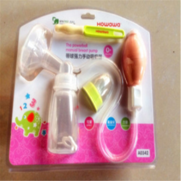 Simple Breast Suction Pump Breastfeeding Milk Collecter
