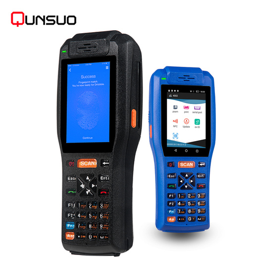 Handheld lottery pos pda terminal with printer