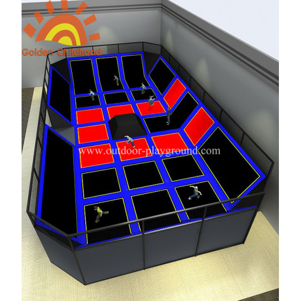 Gymnastic Sky Trampoline Playground For Kids