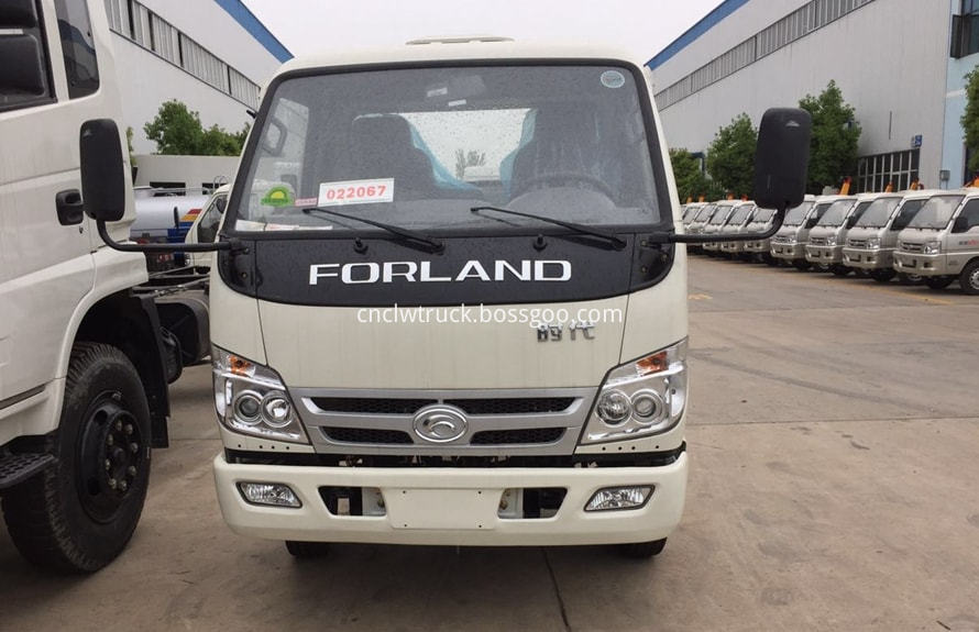 foton 3000l water truck chassis 4