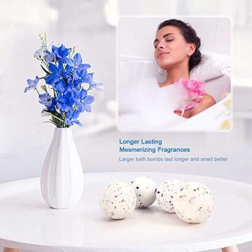 LADES 4PCS Spa Bubble Bath Bombs Gift Set