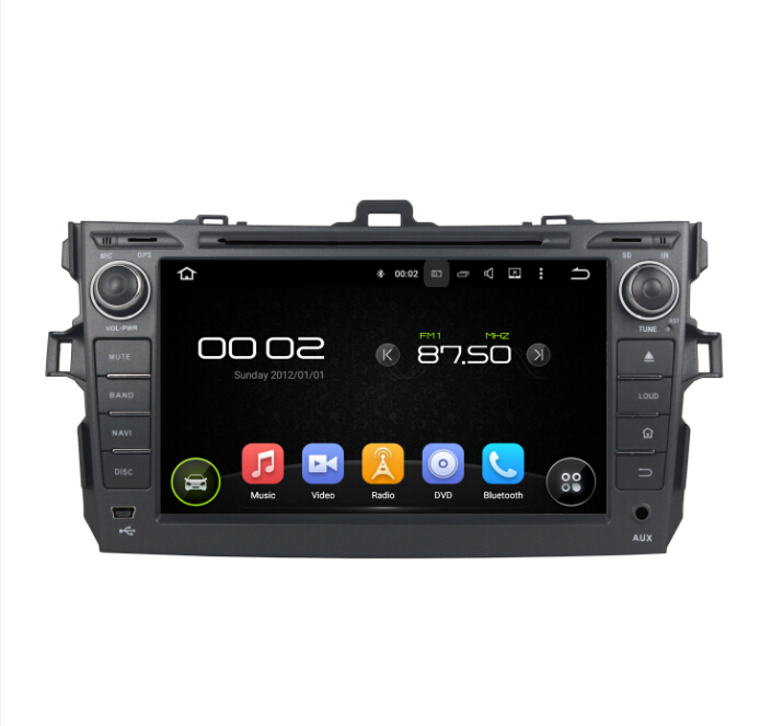 TOYOTA COROLLA Android 7.1 Car DVD Player