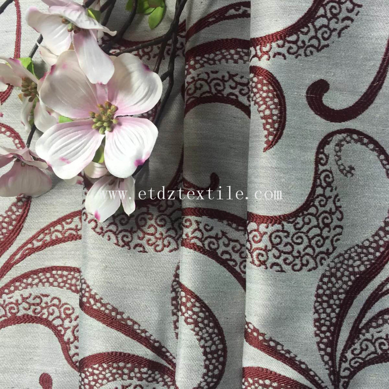 curtain jacquard
