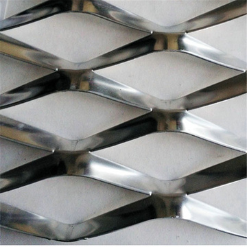 1mm Thick Painted Diamond Expanded Mesh Metal Mesh