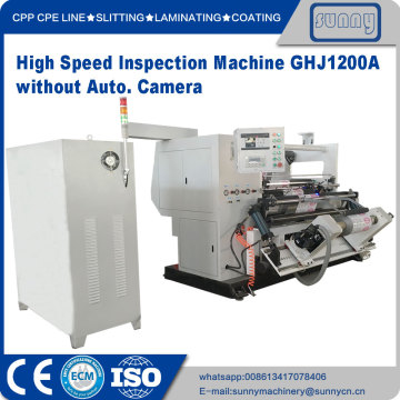 Label inspection machine for printing film