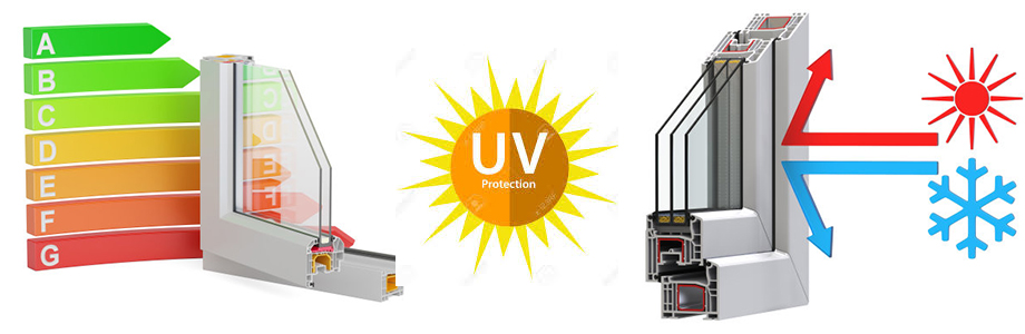 uv protection upvc profile