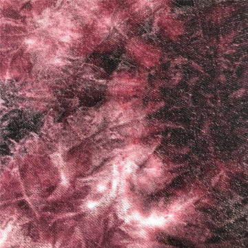 T/C French Terry Tie Dyed Fabric