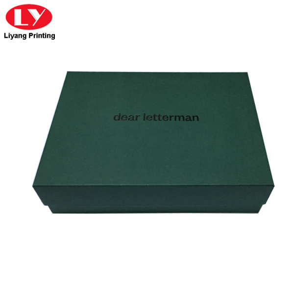 Rectangle Cardboard Clothing Storage Box for Men