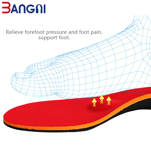 Orthotic Breathable Shoes Insole Arch Support Pad Man
