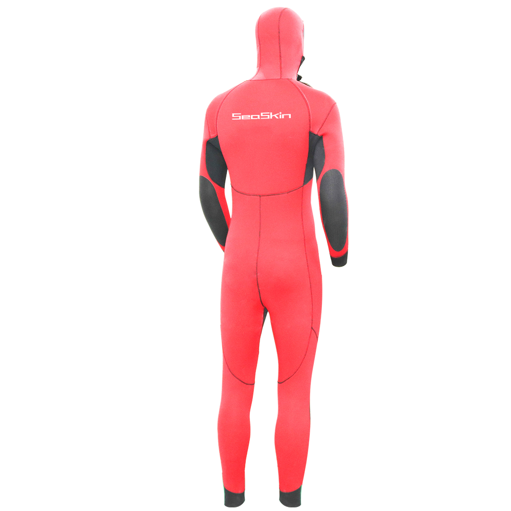 Seaskin Mens Hooded Wetsuit