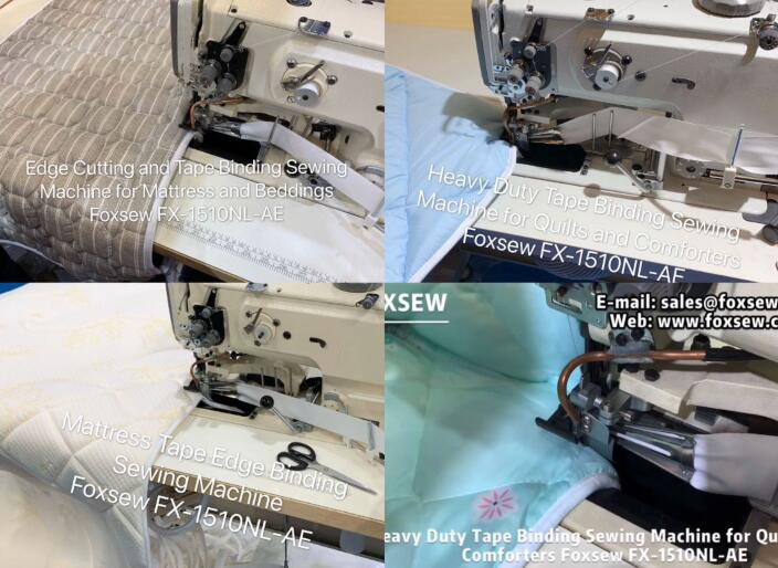 Fx 1510nl Ae Heavy Duty Tape Binding Machine For Mattress And Quilts 6
