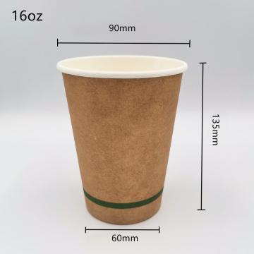 Eco-friendly 100% Biodegradable Compostable PLA lined Cups