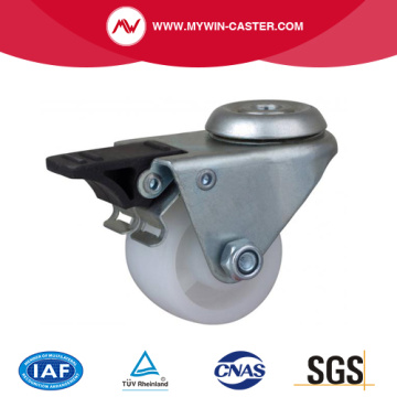 2 Inch 80Kg Bolt Hole Brake PO Machine Caster