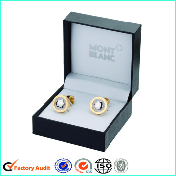 Wholesale Black Cufflink Gift Boxes Packaging