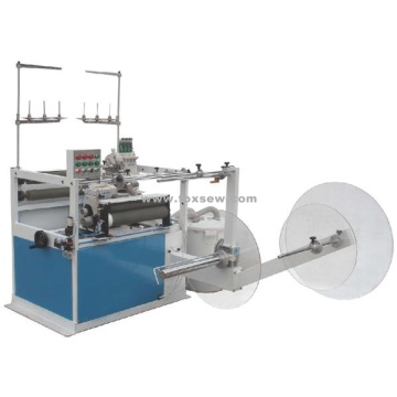 Double Sewing Head Serging Machine
