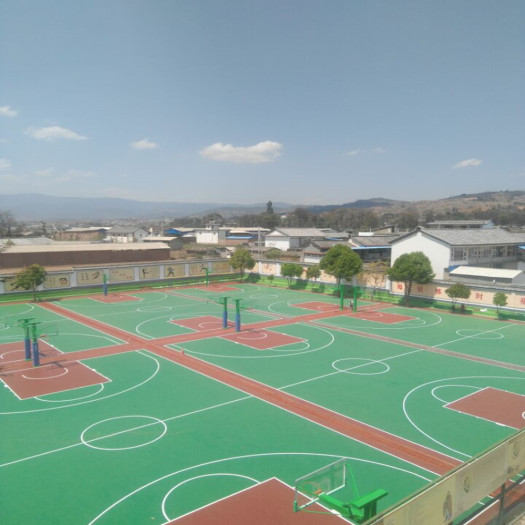 PVC Outdoor Sports Flooring for Basketball