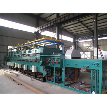 Mesh belt gas tempering furnace