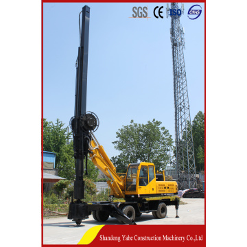 DL-360 wheeled rotary drilling rig export to africa