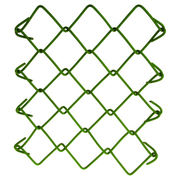 pvc coated used decorative chain link fence