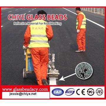 Reflective Glass Beads for Traffic Paint