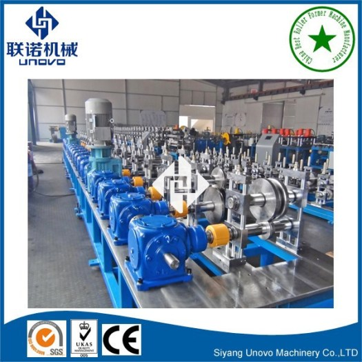 photovoltaic solar structure steel hat section forming machine