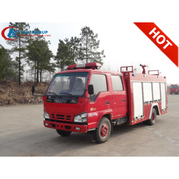 2019 New ISUZU 1500litres small fire fighter trucks