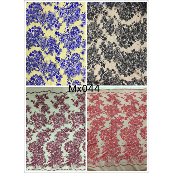 High Quality Strand Lace Embroidery Fabric