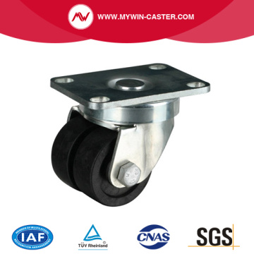 Plate Swivel PA Machine Caster