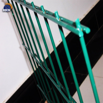 low carbon steel wire double wire fence