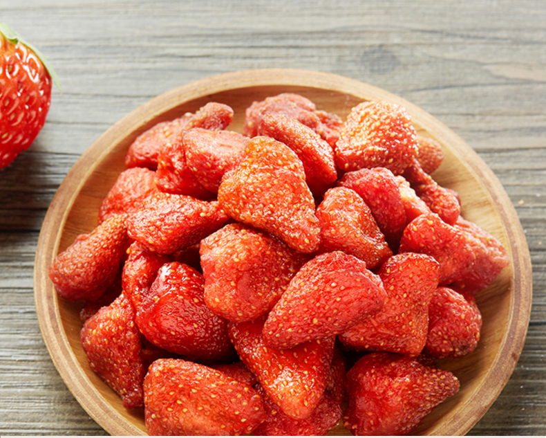 Pure Dried Strawberries