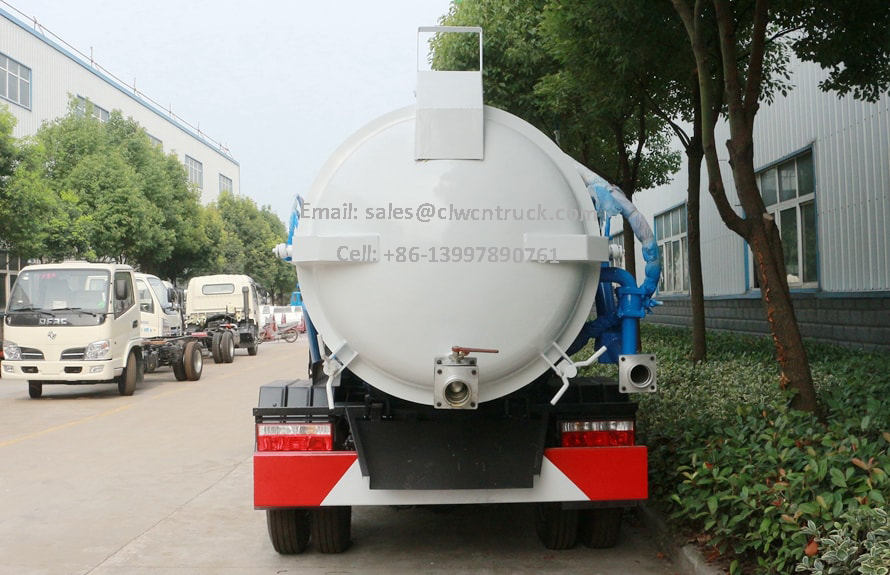Waste Water Truck Price