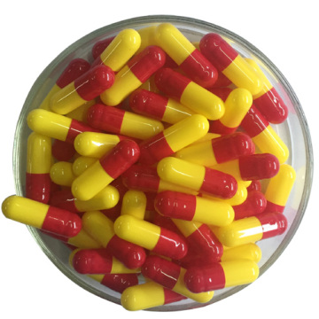 For Drug Red Yellow Hpmc Empty Capsule