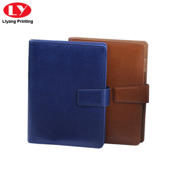 PU cover business loose leaf notebook diary