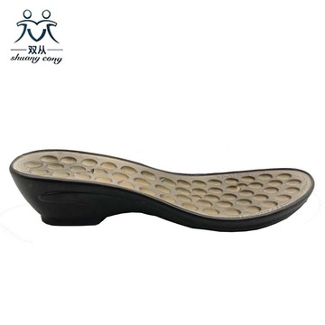 Cheap Price Black PU Outsole