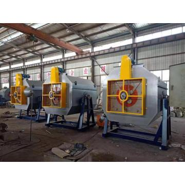Rotary screw hardening furnace