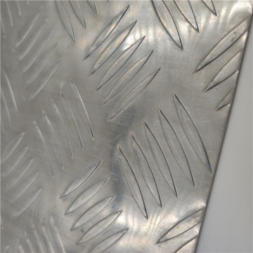 Embossed five stars Aluminum Sheet