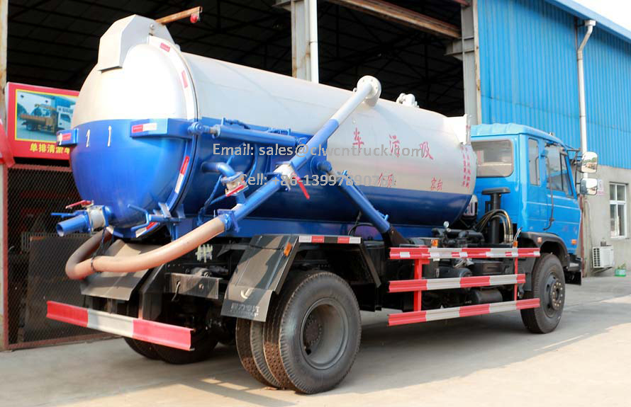 Dongfeng Sewage Truck For Sale