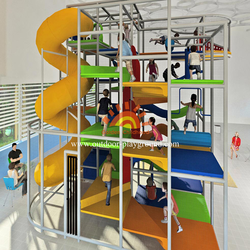 Children Play Structure Indoor Playground For Sales