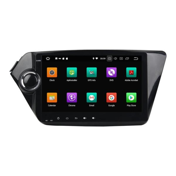 car dvd double din for K2 RIO 2011-2015