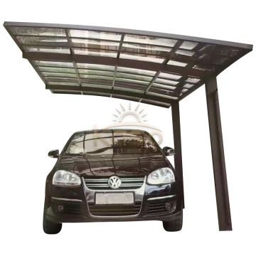 Aluminum Polycarbonate Custom Metal Double Garage Carport