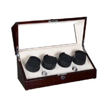 Rotor Silent Wooden Automatic Watch Winder